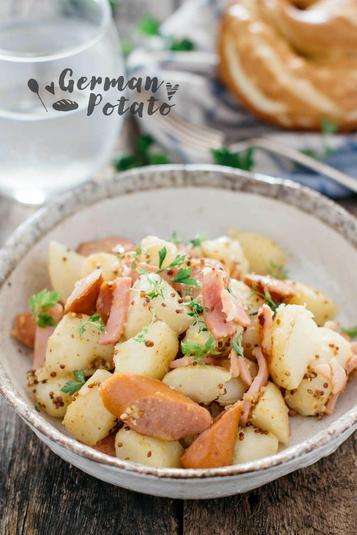 German Fried potato