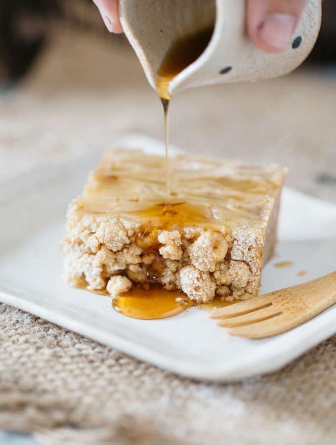 Invisible Apple Cake : Gateau invisible