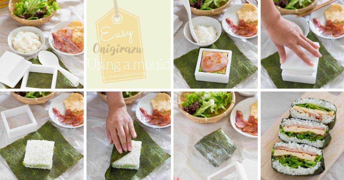 Onigirau rice sandwich