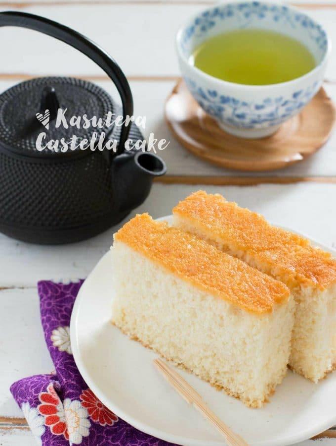 Kasutera Japanese castella cake