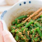 Gomaae Green Beans