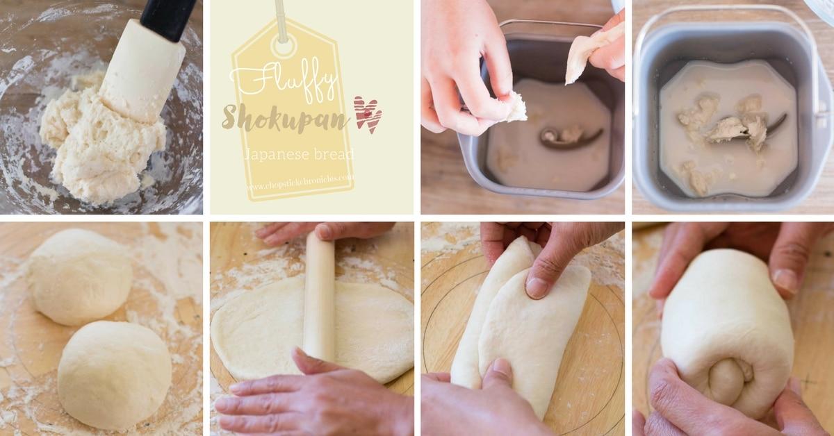 Shokupan making process