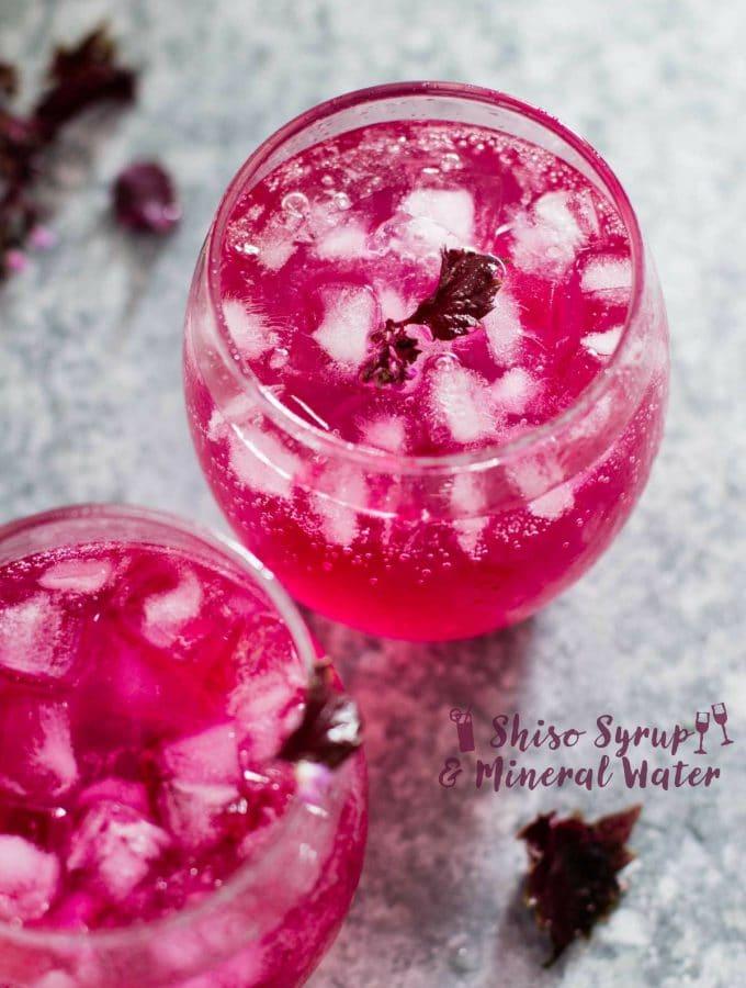 Shiso juice