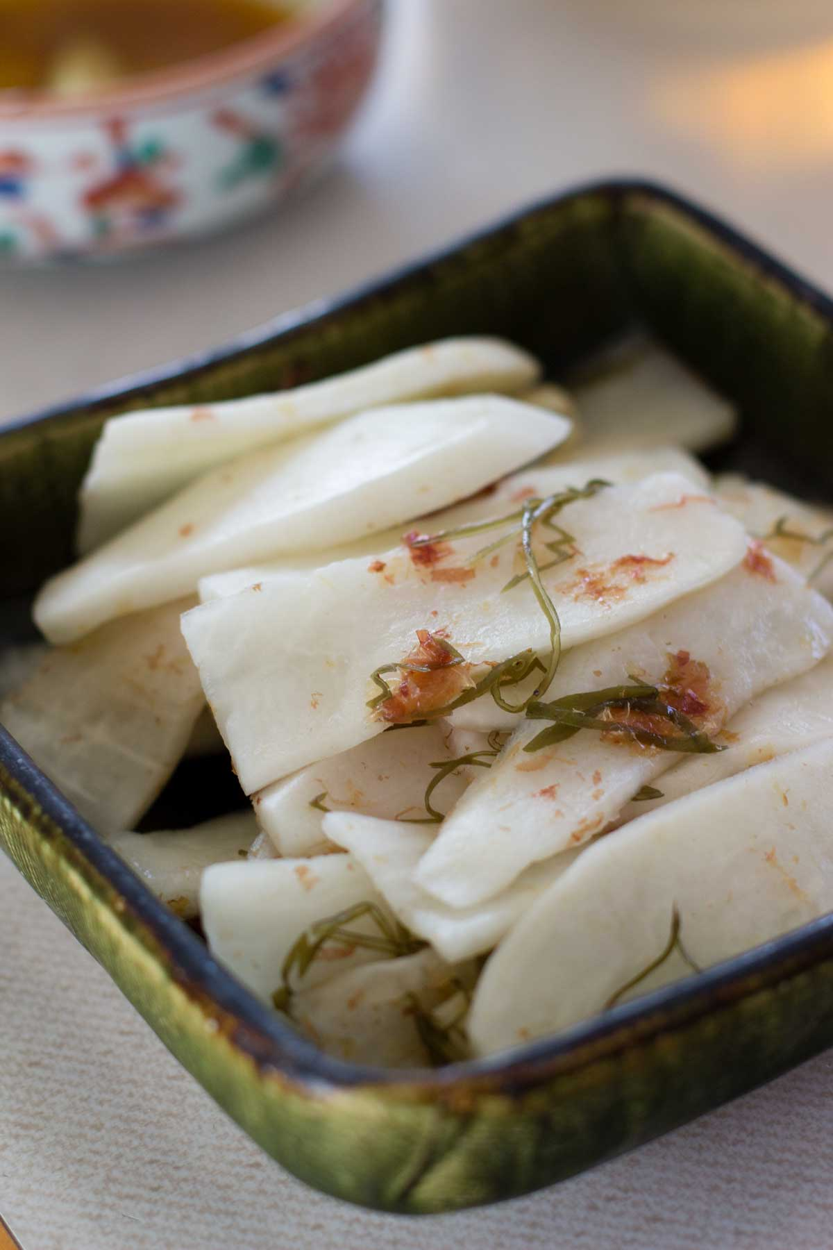 Pickled Daikon Radish
