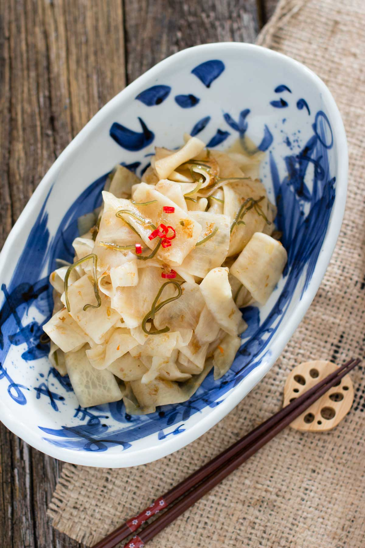 Pickled Daikon Radish