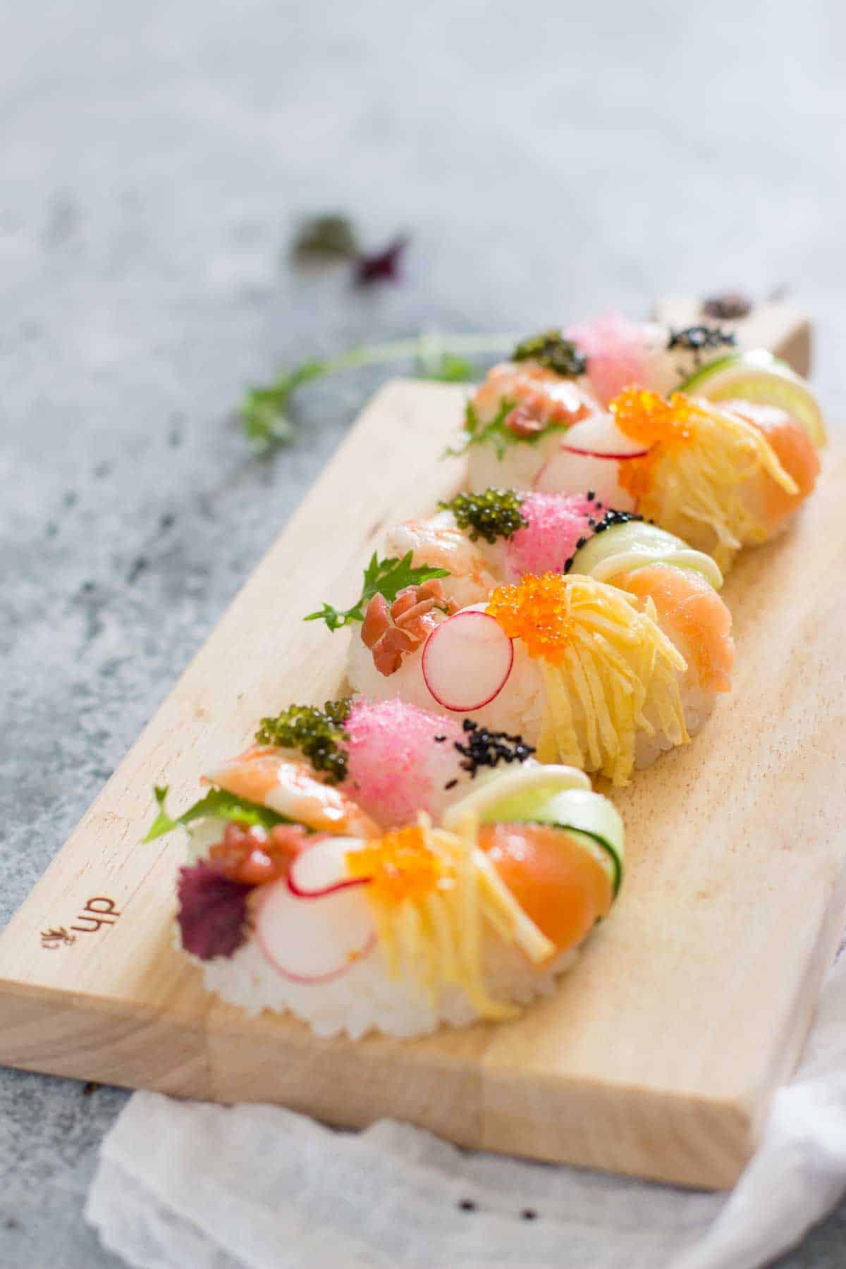 sushi conuts