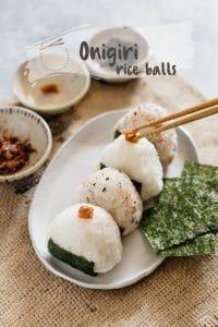 Onigiri rice balls