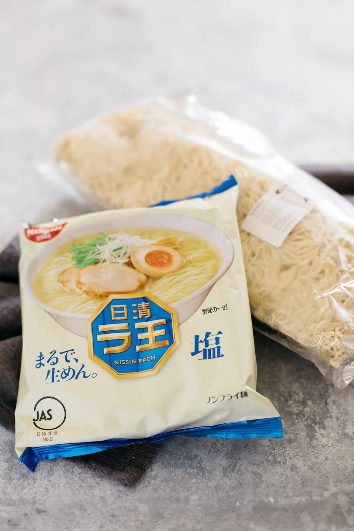 ramen noodle packets