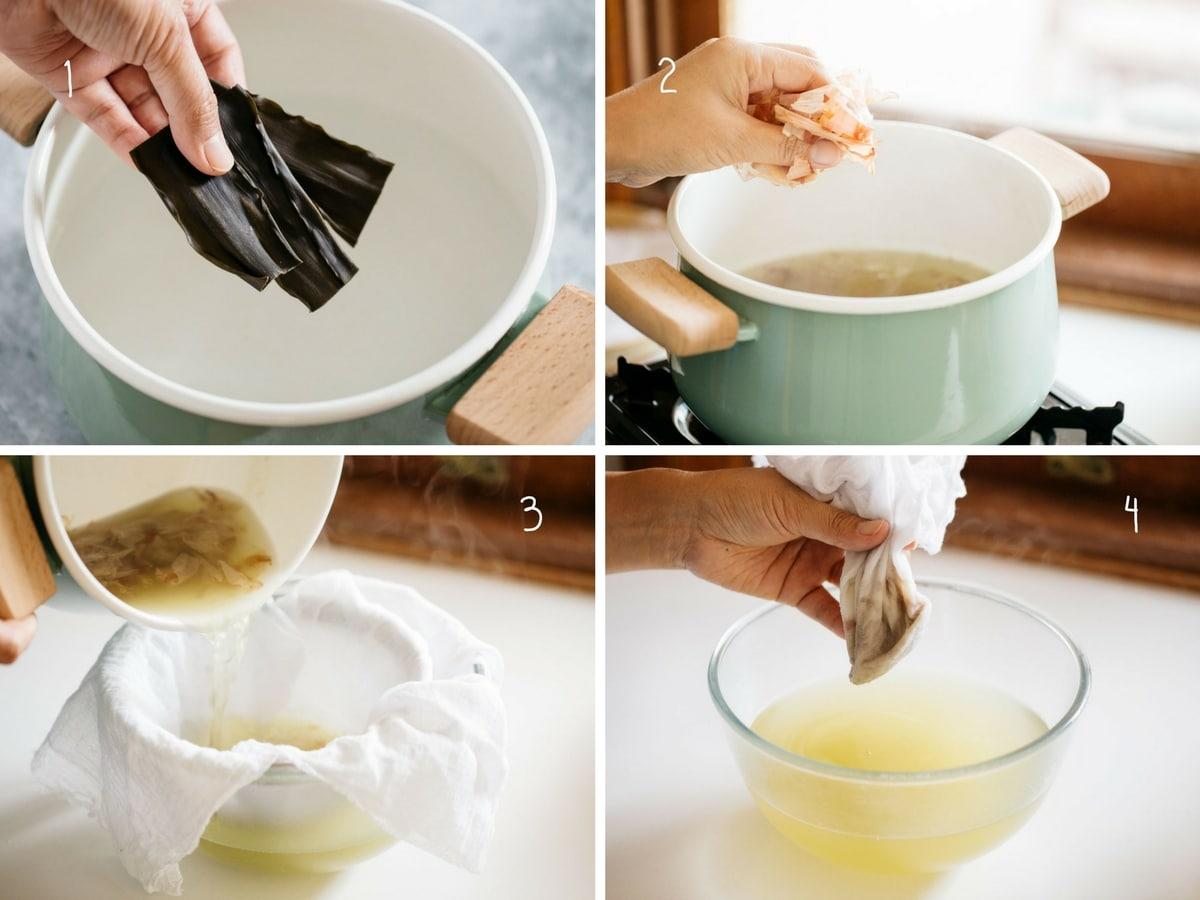how to make dashi stock