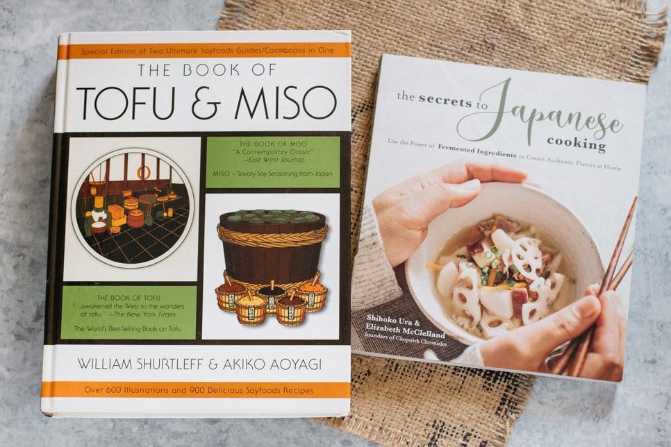 two miso books