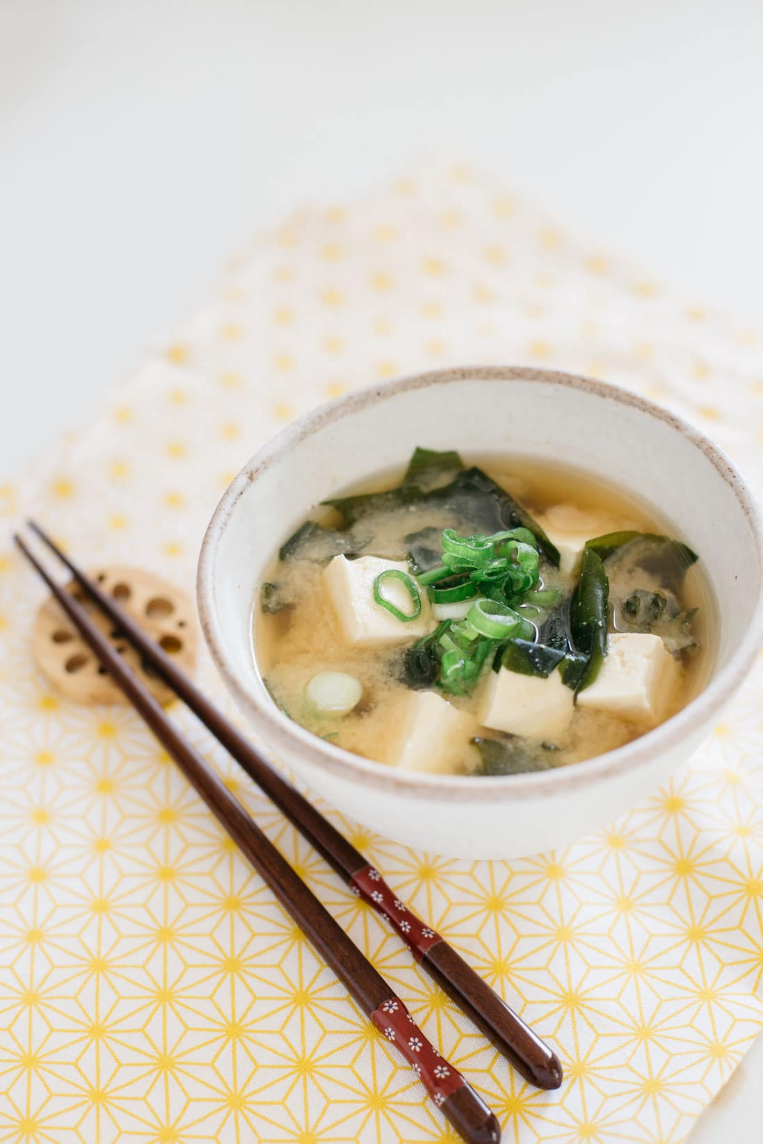 How to make miso soup without paste