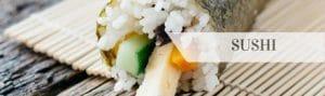 Sushi sidebarmenu