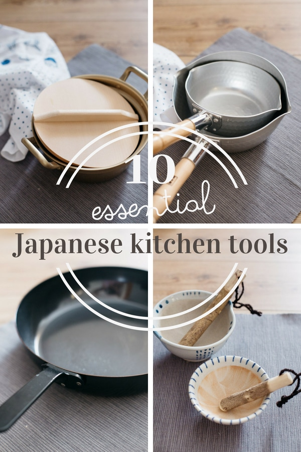 4 photos of Japanese kitchen wares