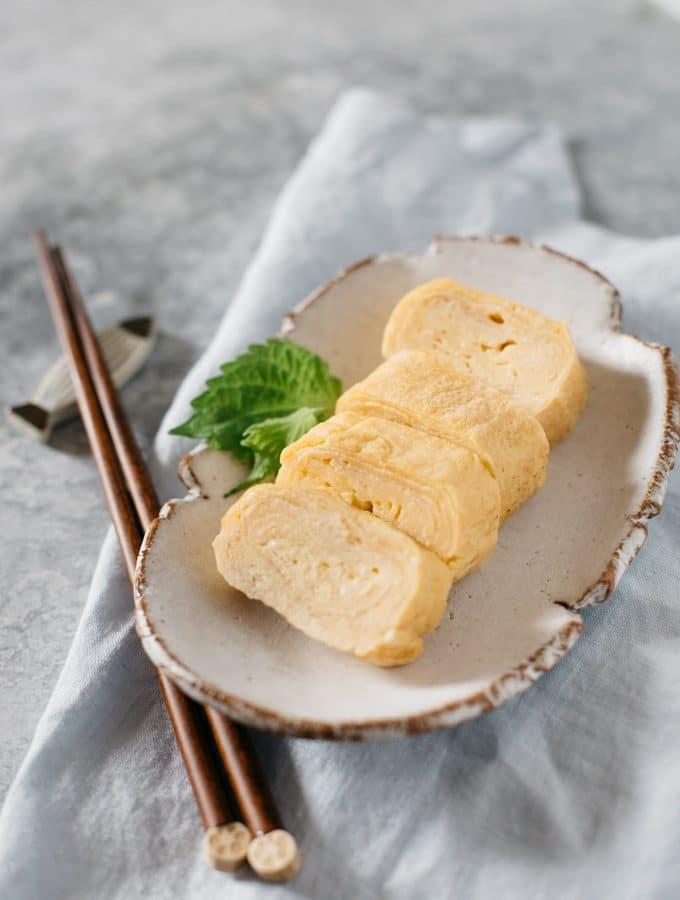 Tamagoyaki Japanese rolled egg