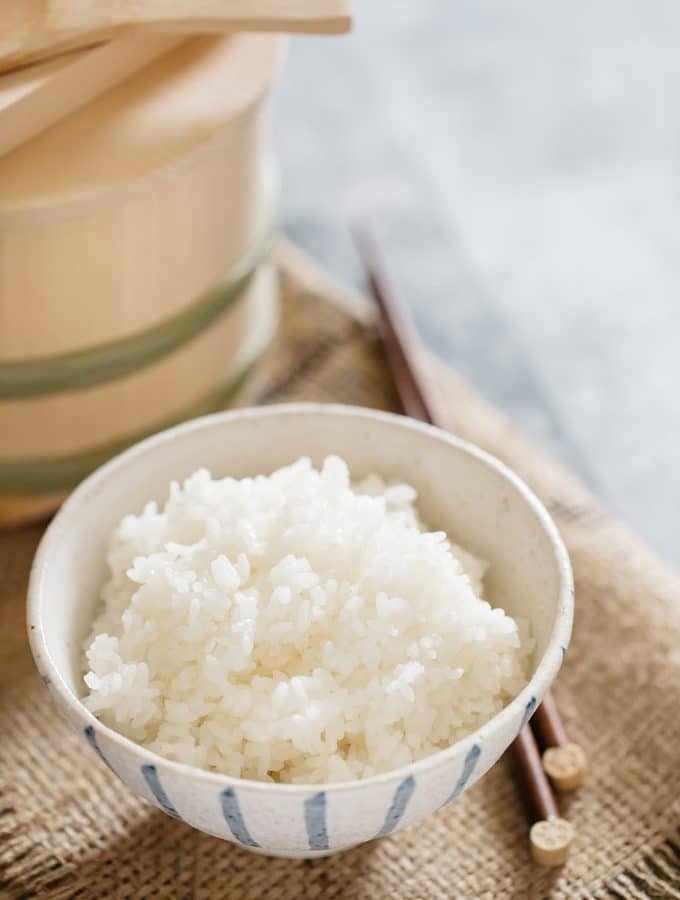 How to cook rice, the Japanese way