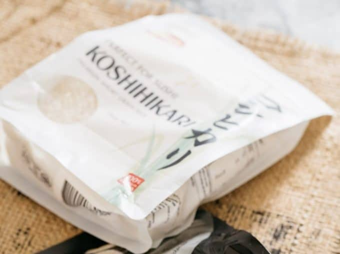 Koshihikari rice package