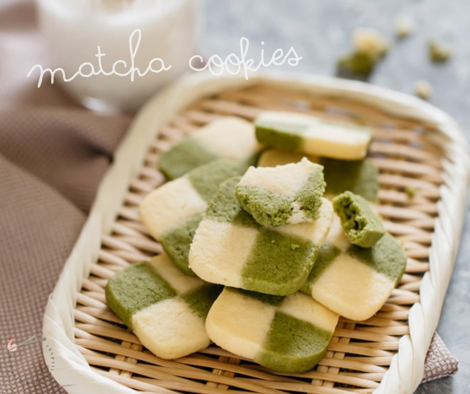 Matcha Cookies How To Make Checkerboard Cookies Chopstick Chronicles