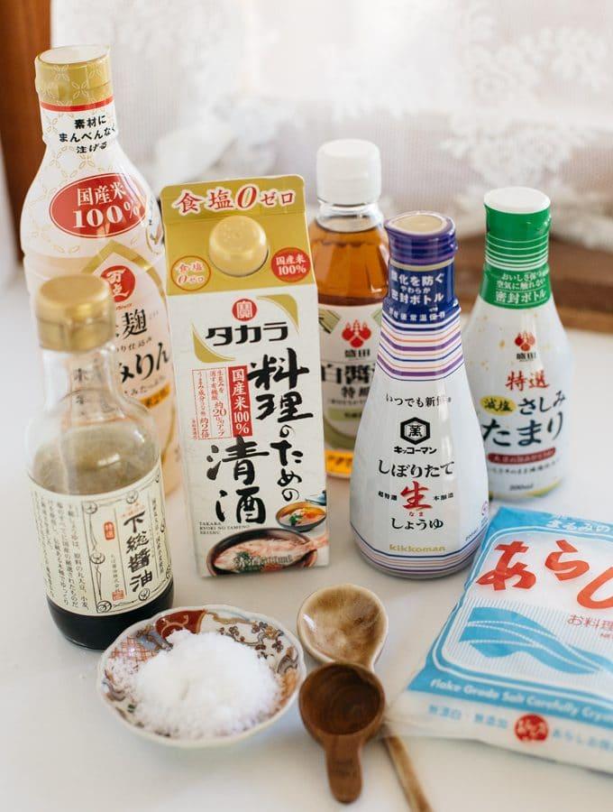 5 Essential Japanese seasonings and condiments