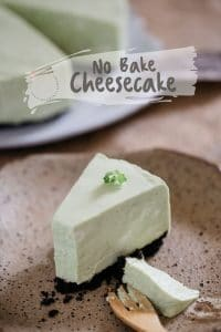 no bake cheesecake pinterest pin