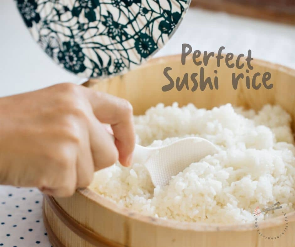 Sushi Rice How To Make It Perfectly Chopstick Chronicles