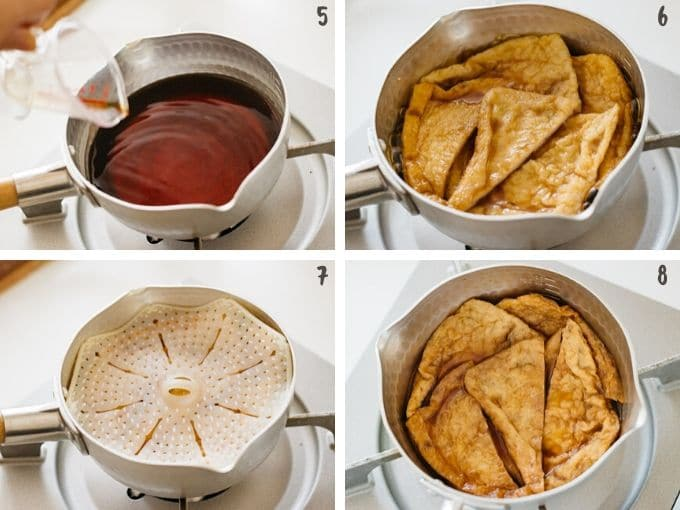 making inari age step by step photos