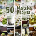 15 photo collage of matcha benefits recipes