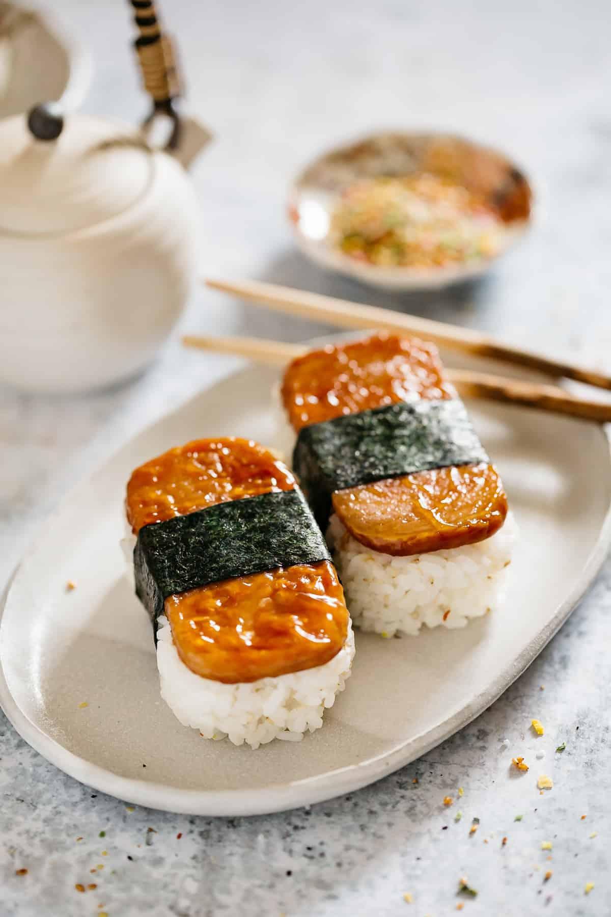 Spam Musubi Simple Recipe Chopstick Chronicles