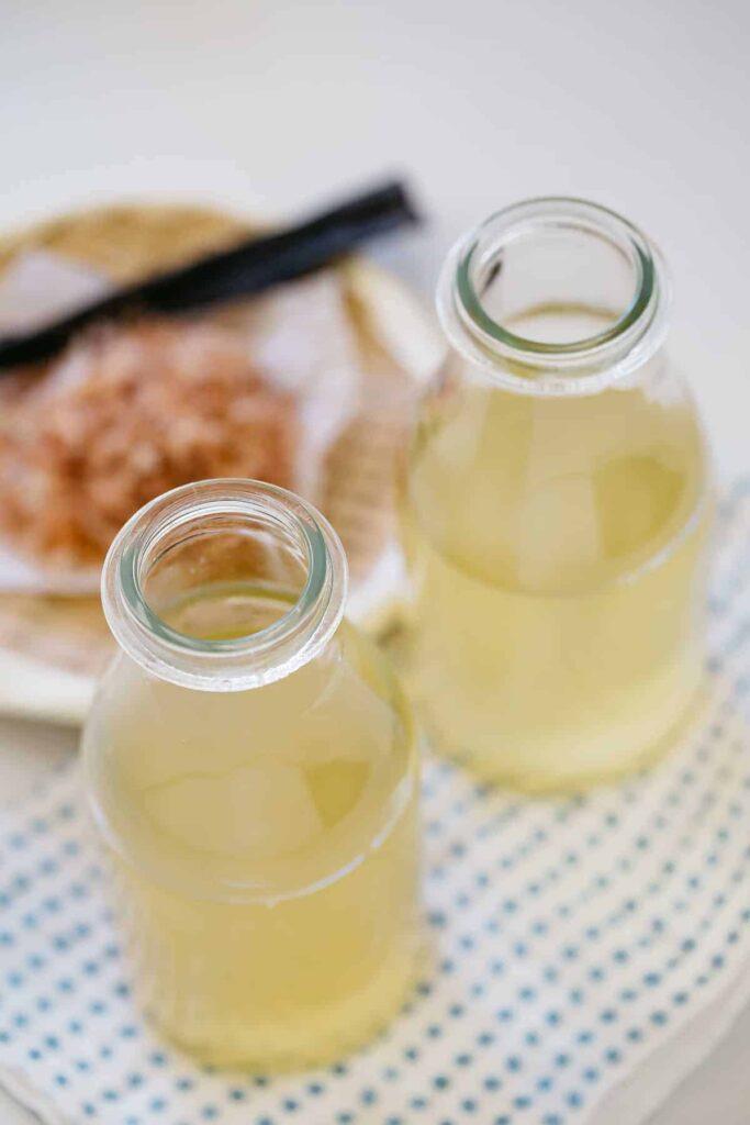 Ichiban Dashi and Niban dashi in two different bottles