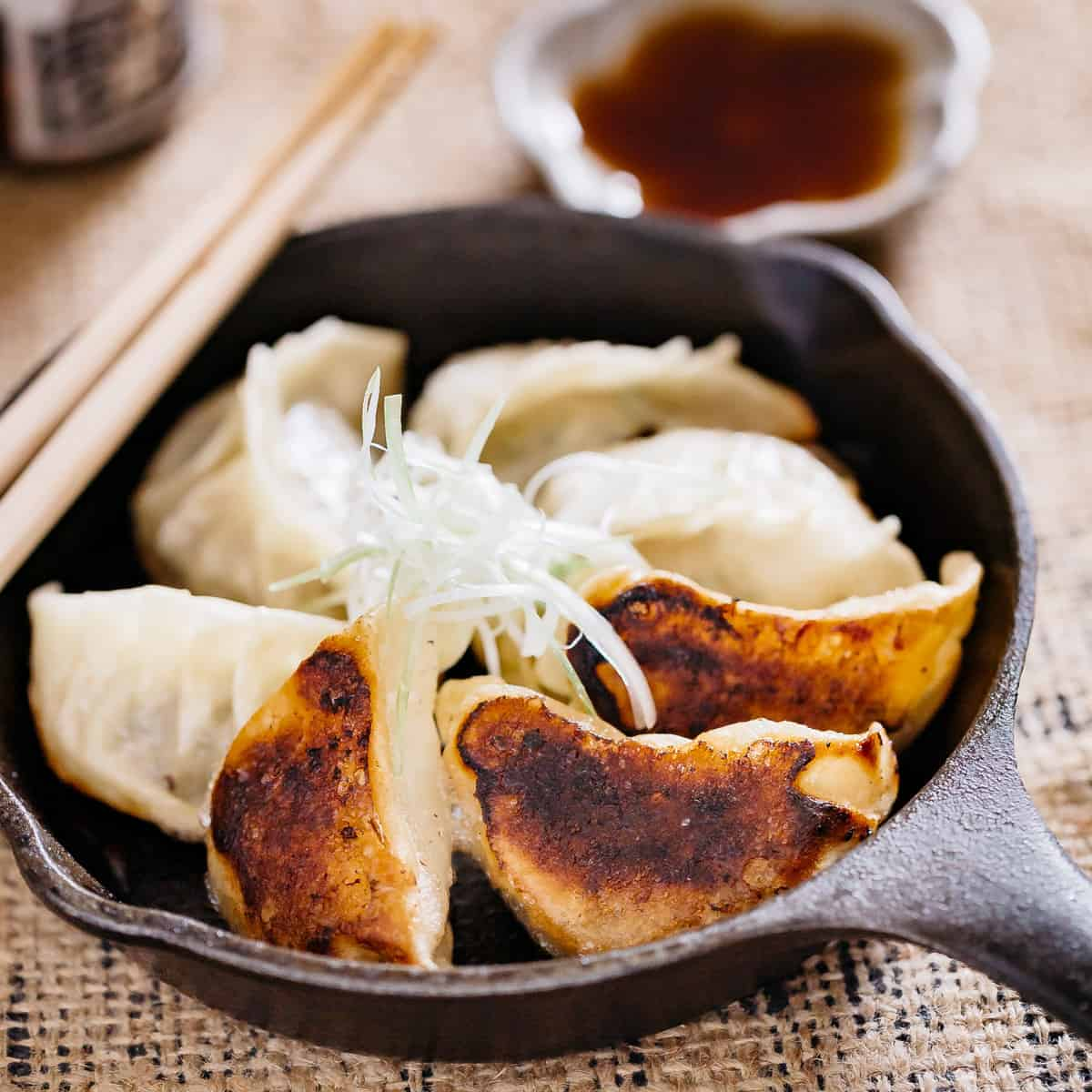 Gyoza Authentic Japanese Recipe Chopstick Chronicles