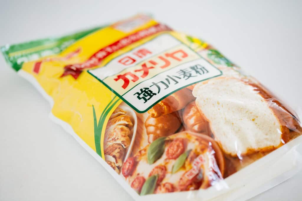 Nisshin brand bread flour packet
