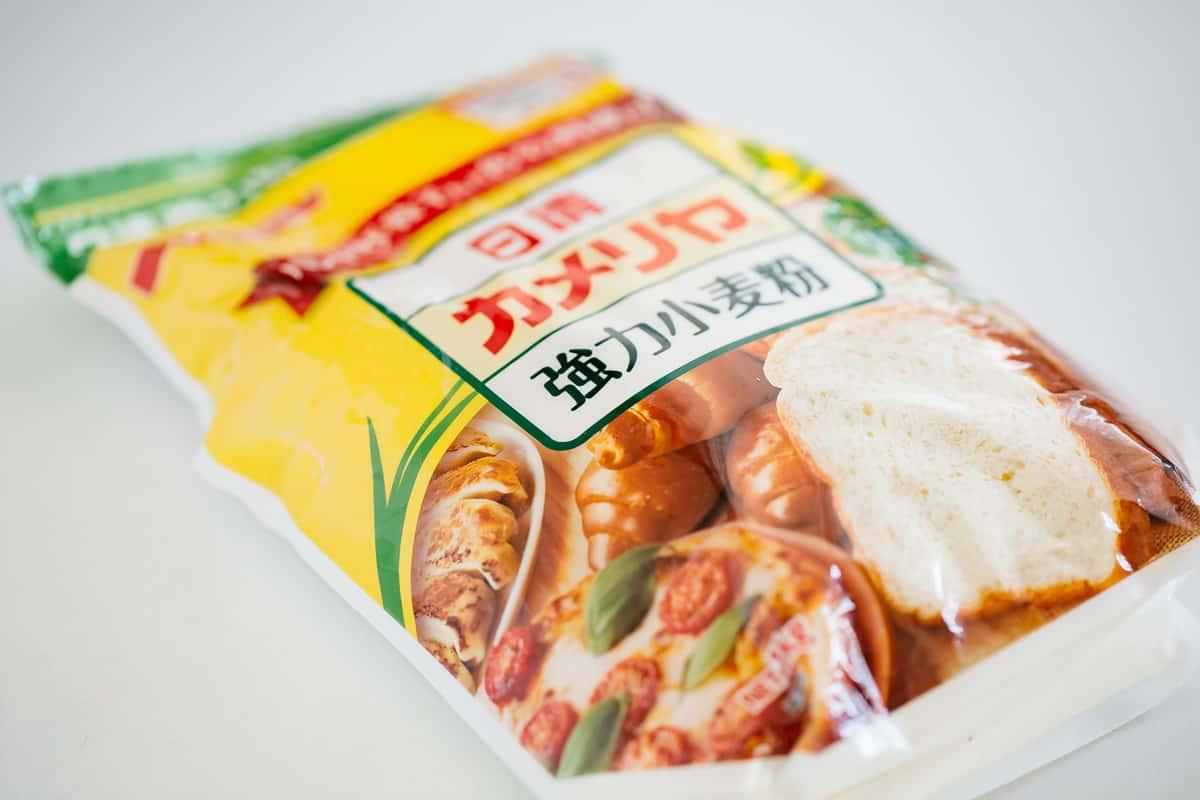 Nisshin brand bread flour packet